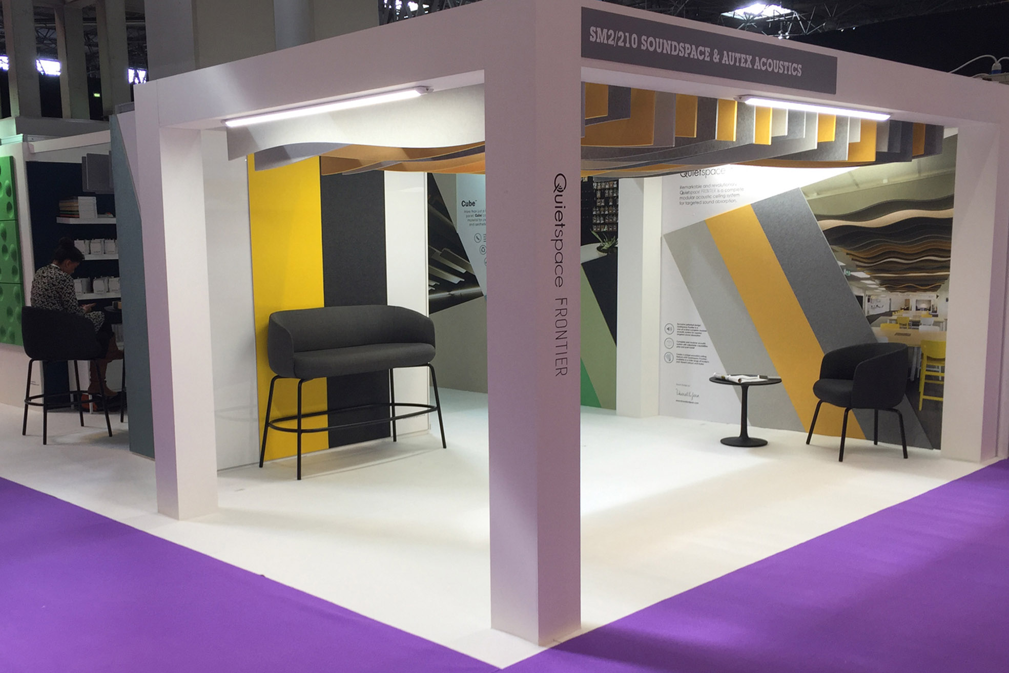 custom exhibition stand soundspace